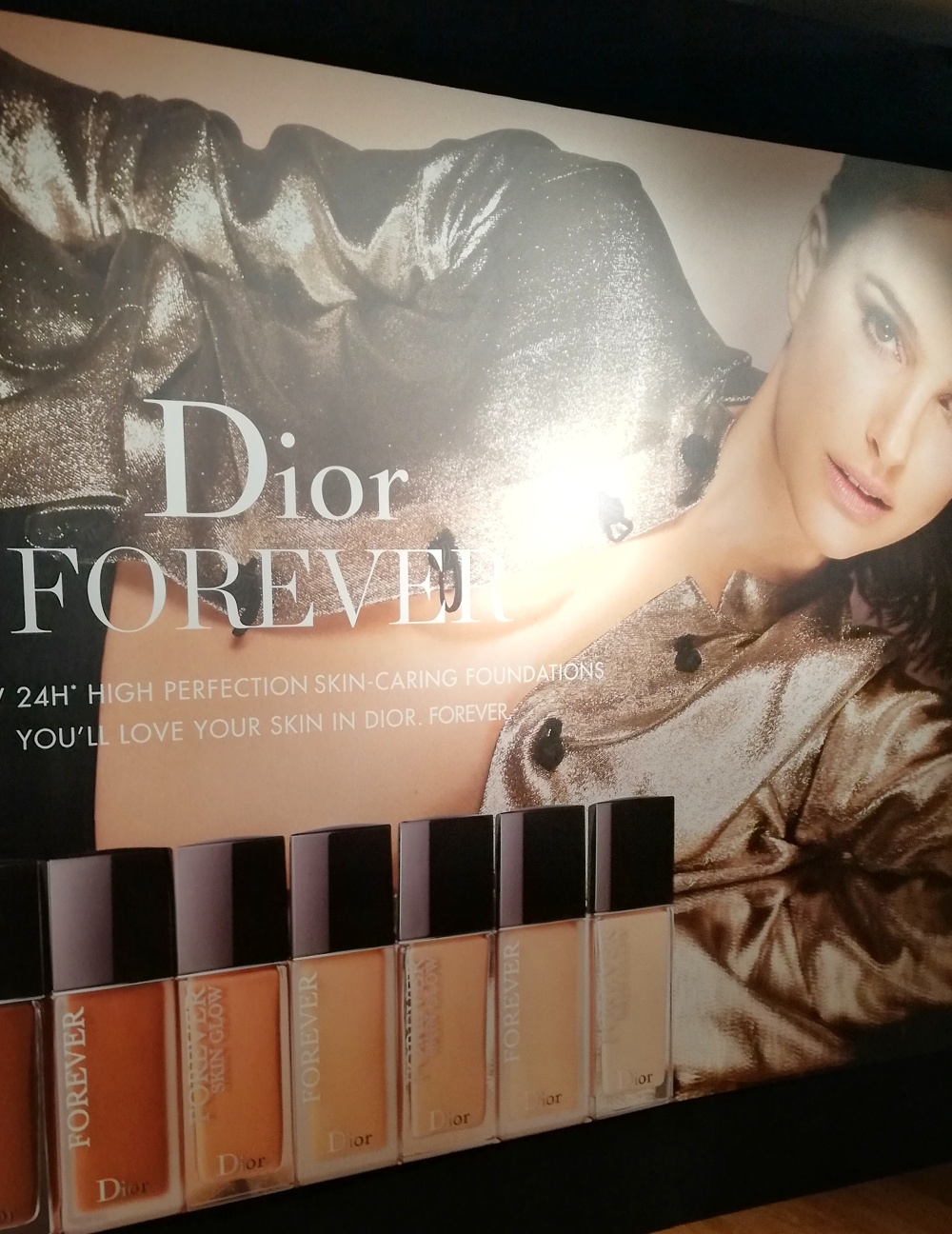 Campagna pubblicitari Dior Forever con Natalie Portman