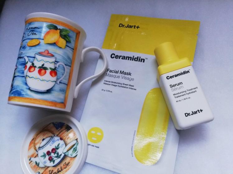 Come idratare la pelle in inverno, Ceramidin di Dr. Jart