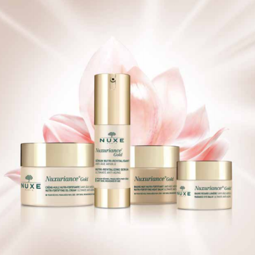 Linea antietà Nuxe Nuxuriance Gold recensione