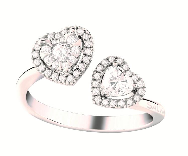 Anello diamanti Salvini Gioielli