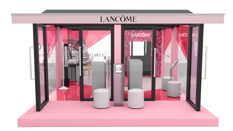 Evento Lancôme Happiness Tour