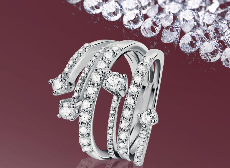 Salvini anello diamanti