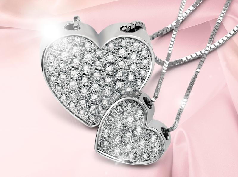 Collana diamanti Salvini regali lusso