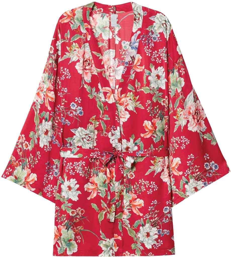 kimono fiori intimissimi primavera
