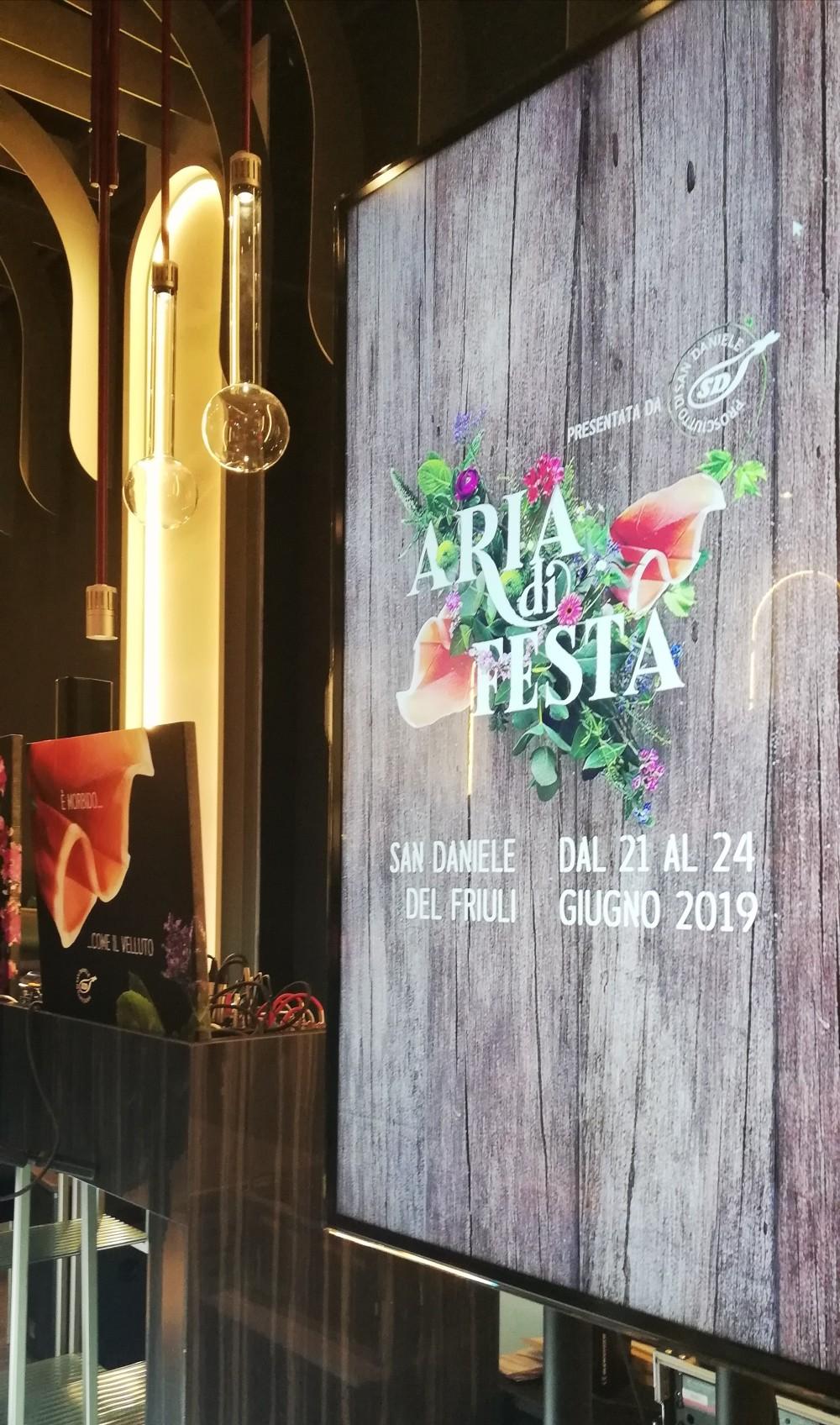 Aria di Festa 2019 Prosciutto San Daniele
