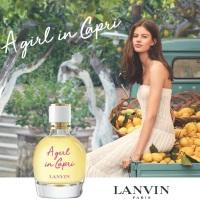 A Girl in Capri di Lanvin, profumo radioso di agrumi e di mare