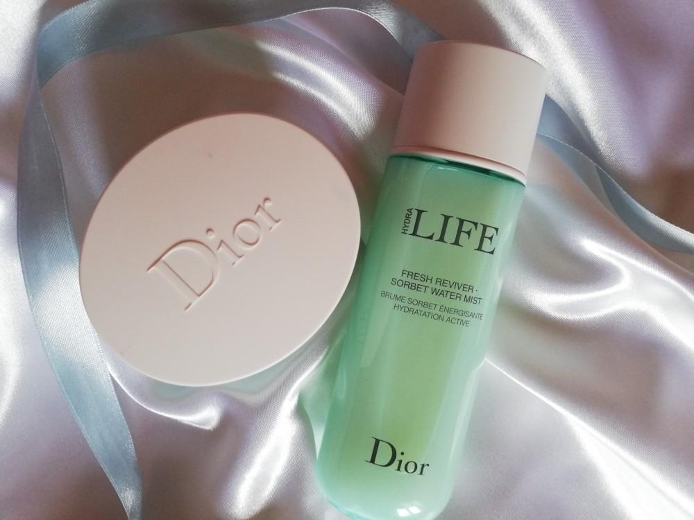 Acqua spray idratante Dior recensione