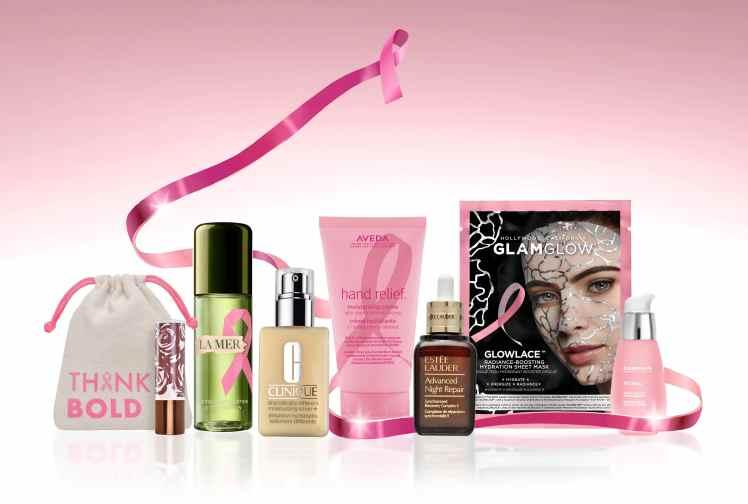 Nastro Rosa prodotti best seller Estee Lauder