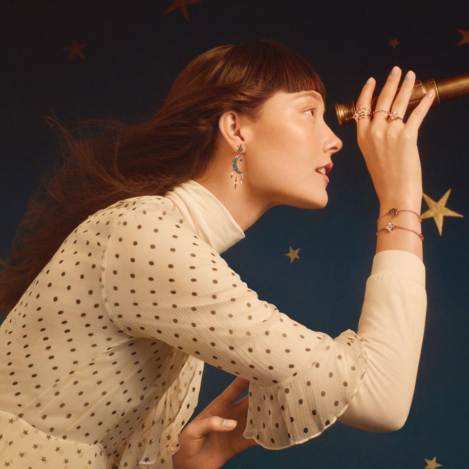Gioielli Swarovski inverno 2020 cielo stellato