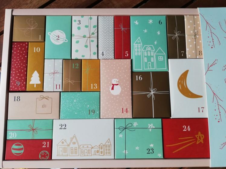 Calendario dell'Avvento Beauty di Qvc per Natale 2019