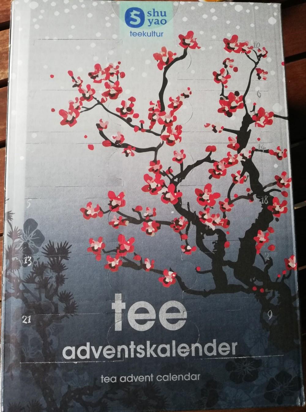Calendario dell'Avvento del tè in vendita su Qvc