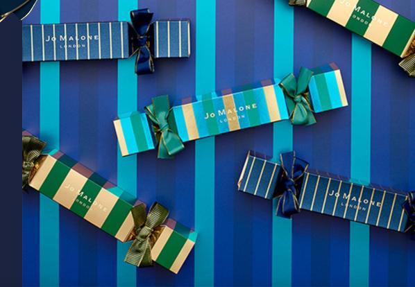 Cracker beauty Natale idee regalo di Jo Malone