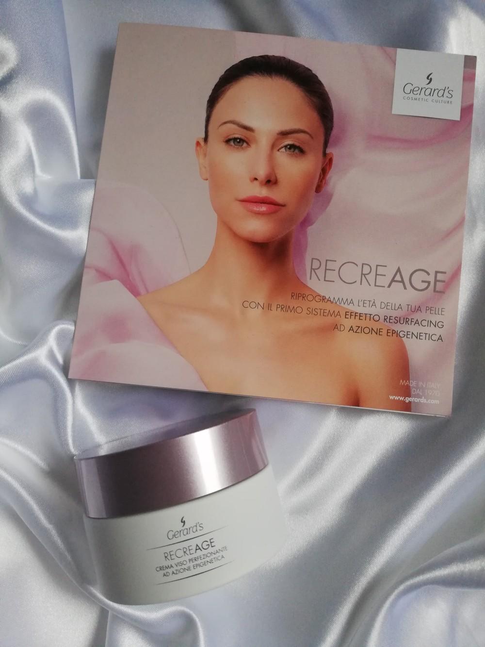 Recreage crema viso antiage perfezionante