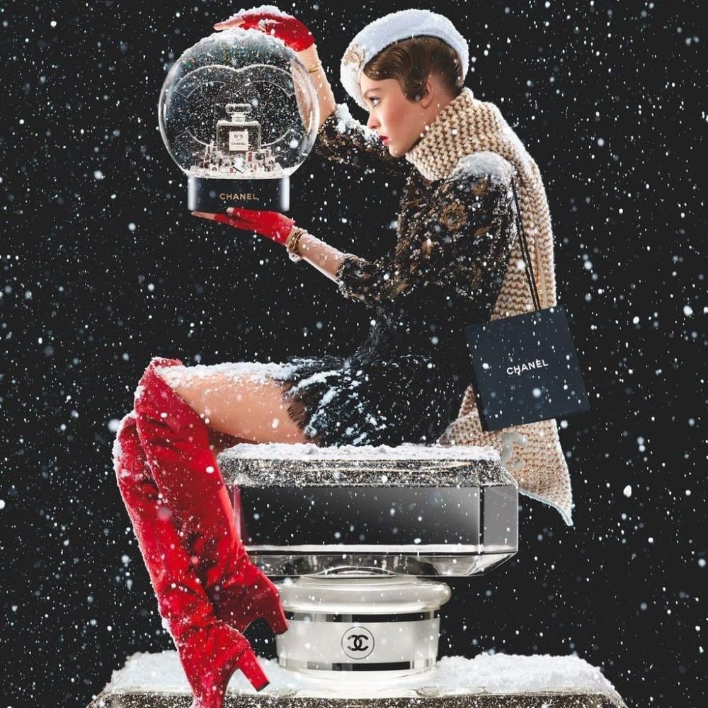 Natale 2019 spot del profumo Chanel N 5 Eau