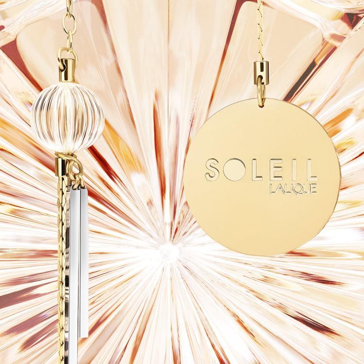 Flacone gioiello profumo Soleil Lalique
