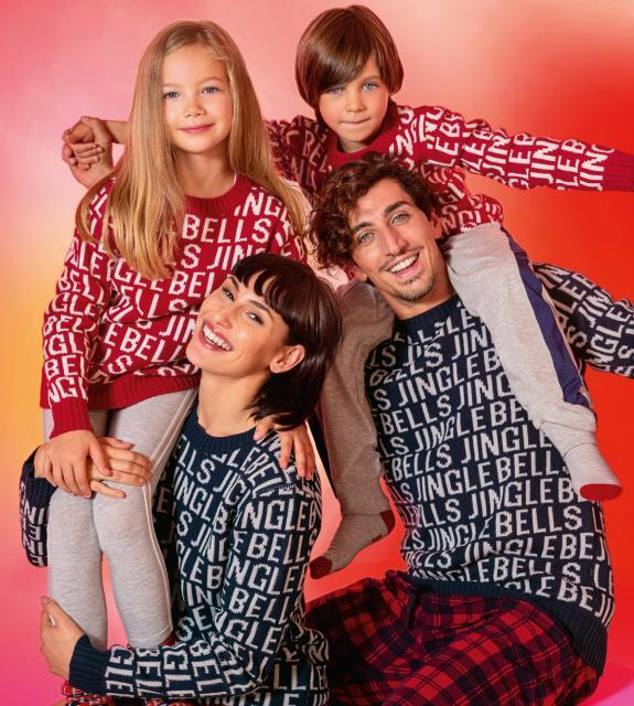 Maglione di Natale per tutta la famiglia