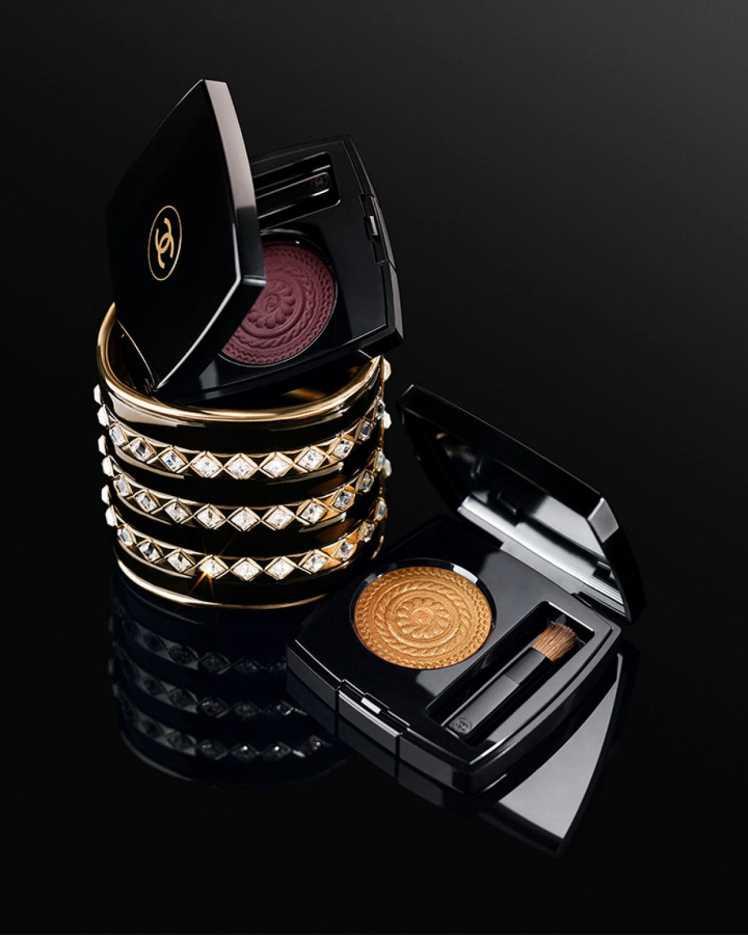 Trucco occhi per Capodanno ombretti di Chanel