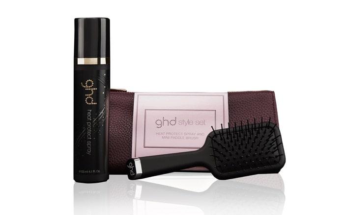 Set regalo spazzola capelli di Ghd per Natale