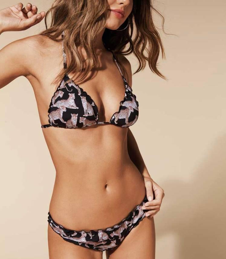 Bikini animalier Calzedonia tendenza dell'estate 2020