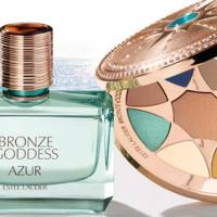 Bronze Goddess Collection di Estée Lauder, richiamo all'azzurro del mare