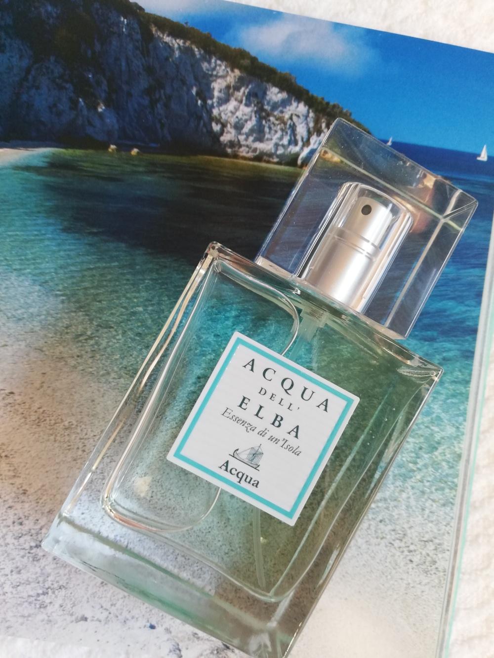 Il profumo del mare nella fragranza Acqua dell'Elba