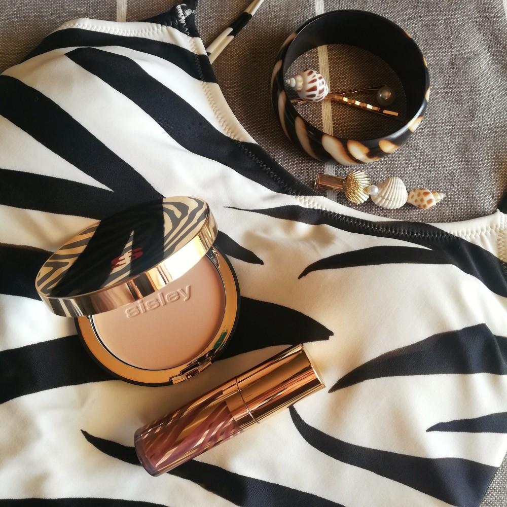 Prestigiose novità maquillage Sisley Paris all'interno di scrigni zebrati