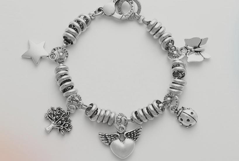 Charms in argento lavorazione artigianale di Giovanni Raspini