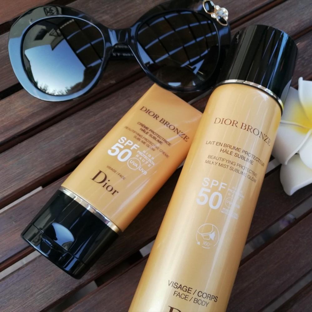 Recensione dei solari Dior Bronze viso e corpo