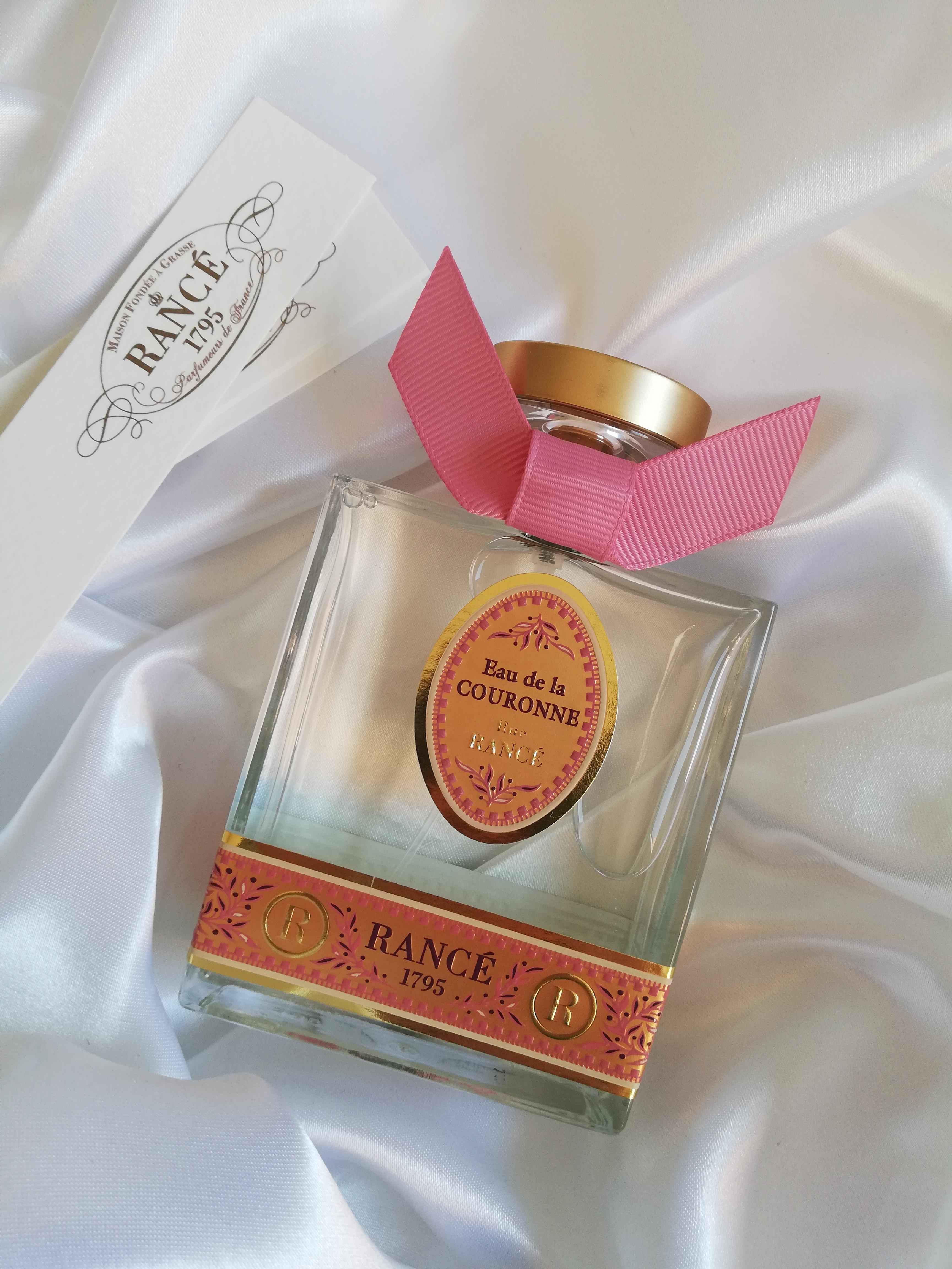 La nuova fragranza Rancé Eau de la Couronne